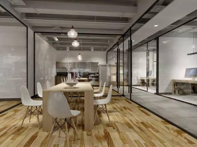 雅致工业风办公室装修设计
