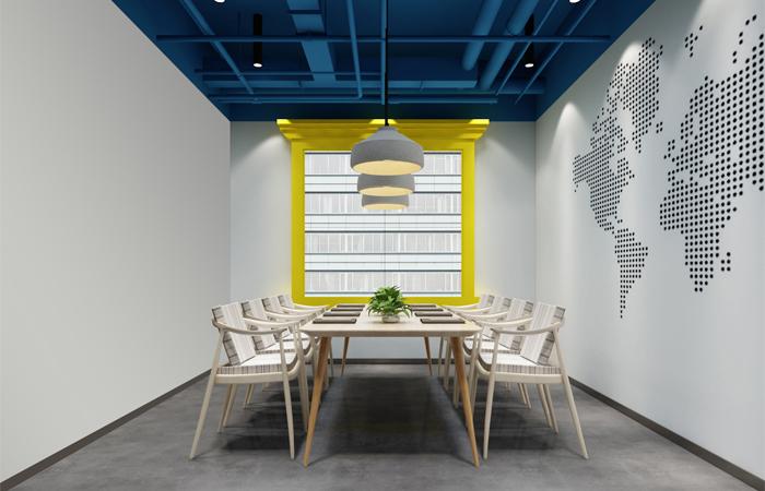 彩色时尚办公室装修设计赏析